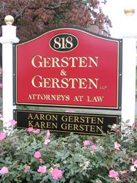 Gersten & Gersten Sign
